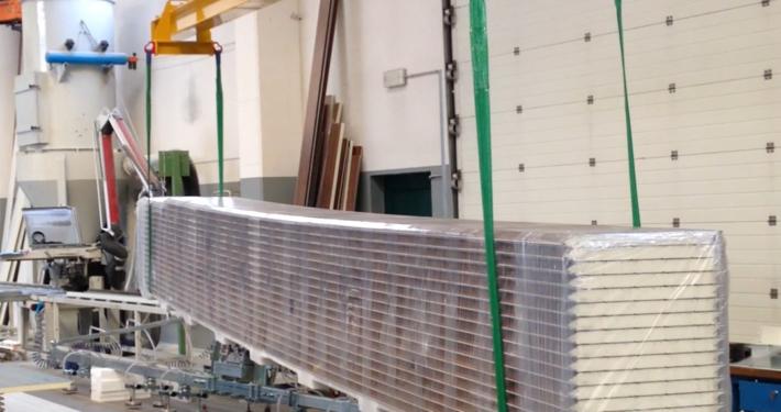 Bilancino per pacchi alluminio
