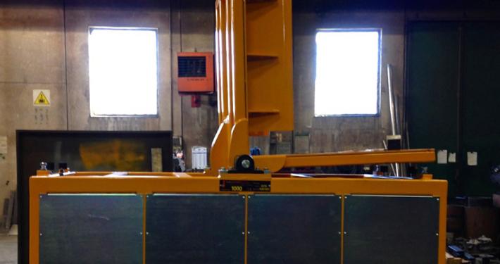 Ribaltatore pneumatico 1000 kg
